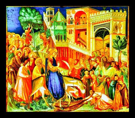 Jesus intåg i Jerusalem