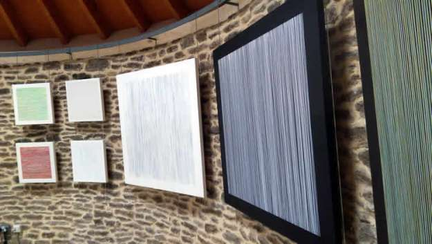 Upstairs at the Round Tower - installation shot