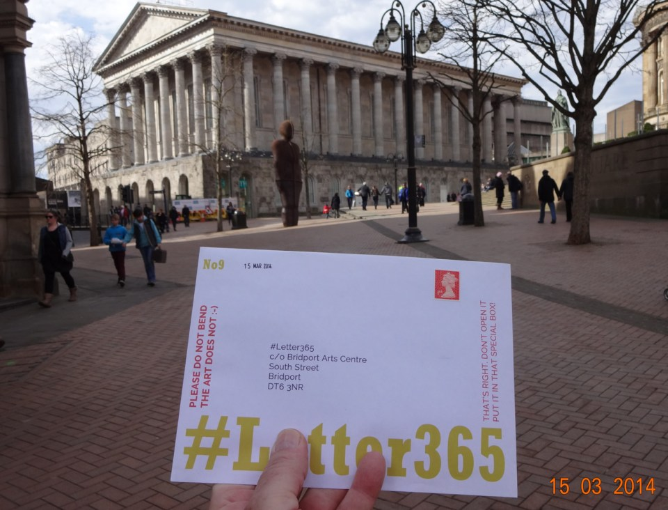 #Letter365 goes to Birmingham