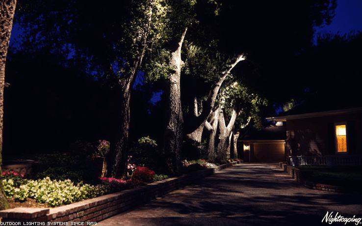 Outdoor Lighting Davidsons Landscape Services Inc