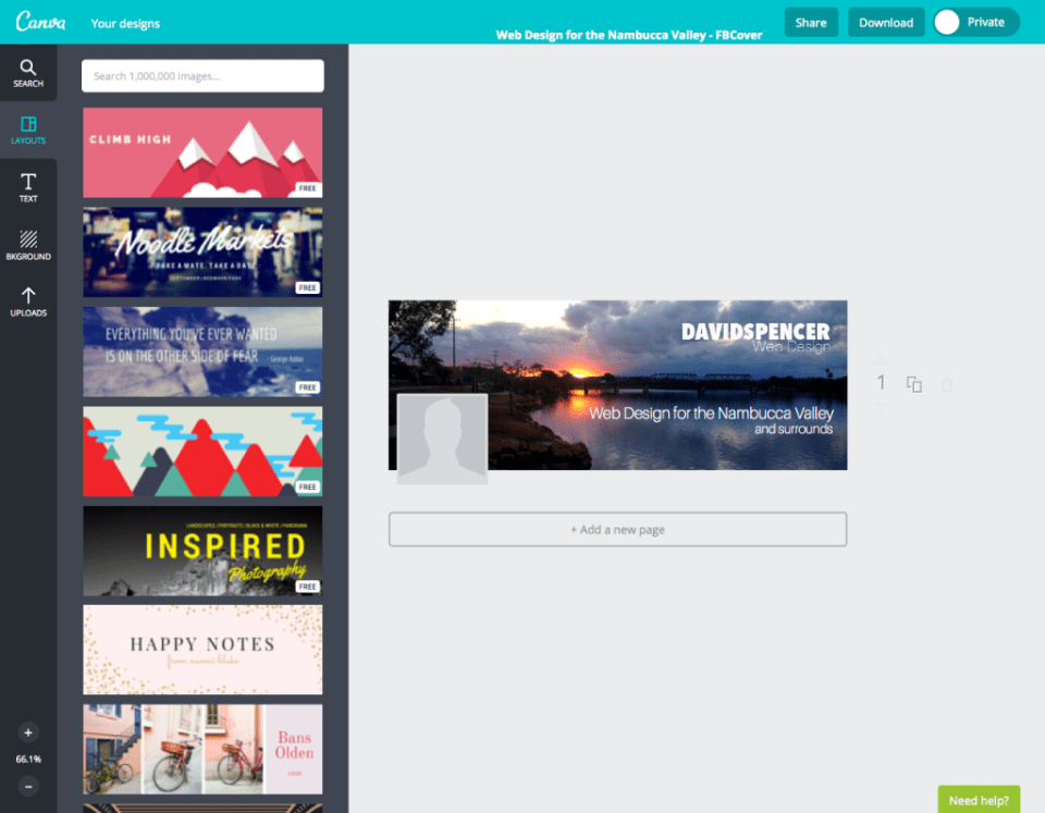 canva.com - Design Canvas