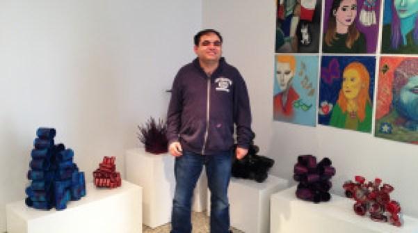 David At his Show1