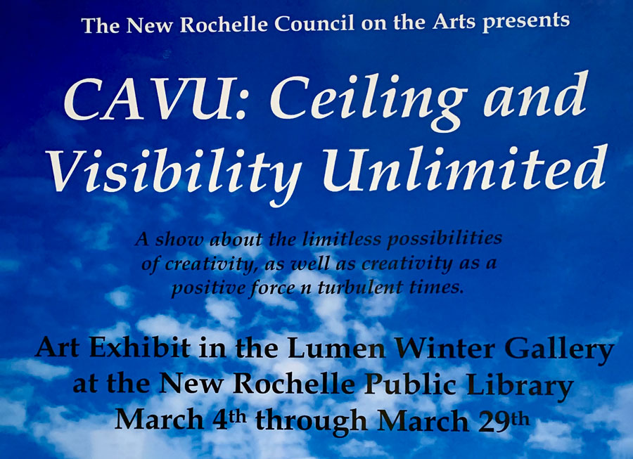 New Rochelle Council on the Arts Members Exhibition at the NRPL!
