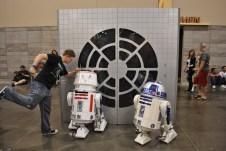 Teach them astromech droids a lesson, son.
