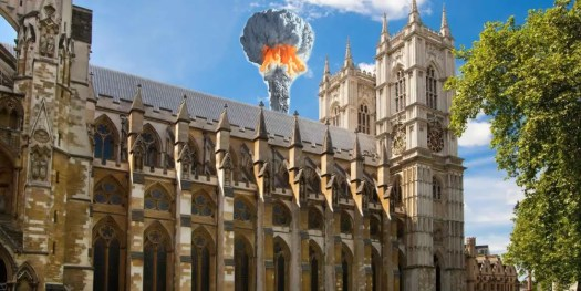 Westminster Abbey to Give Thanks for Nuclear Weapons