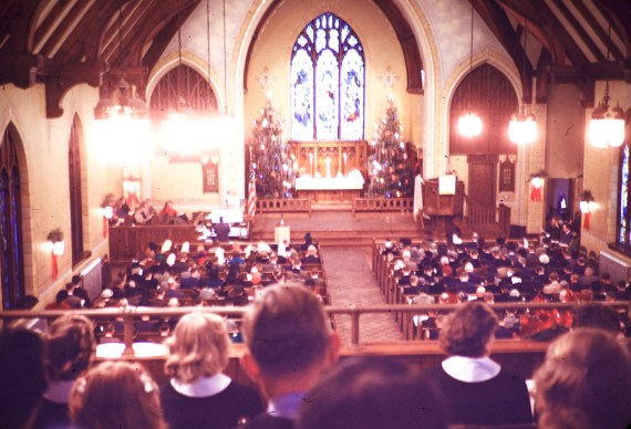 Christmas at Peace Lutheran Church, Hutchinson, MN