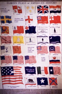 US Capitol - Famous U.S. Flags