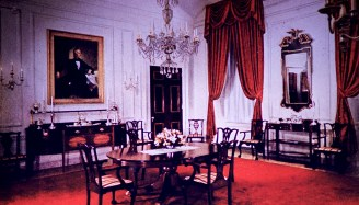 White House - Family Dining Room After Restoration