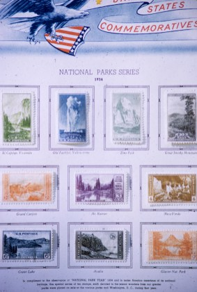 Art - National Parks - My Stamp Album