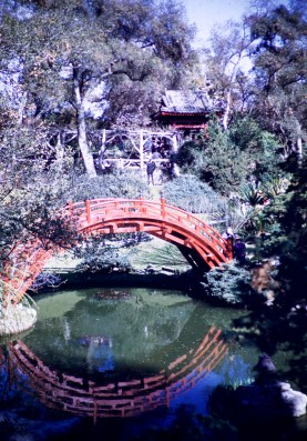 Huntington Library and Art Gallery - Jap Bridge - Oriental Garden