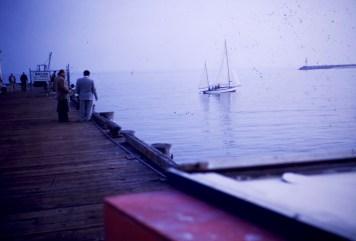 Santa Barbara - View from pier