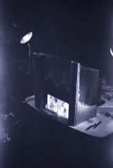 "Terrible Slides - Backstage of ""Water Ballet"" Tabletop"