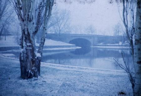 Lake Calhoun - Bridge, Lake of the Isles