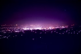 Hollywood - Hollywood from Griffith Observatory