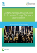 Best Practices for Improving Industrial Energy Efficiency book cover