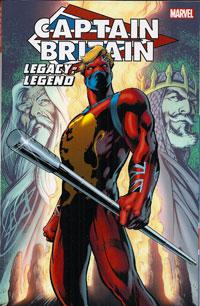 Captain Britain Legacy Of A Legend cover