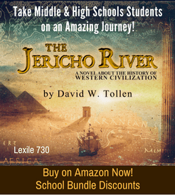 The Jericho River book cover and link to Amazon