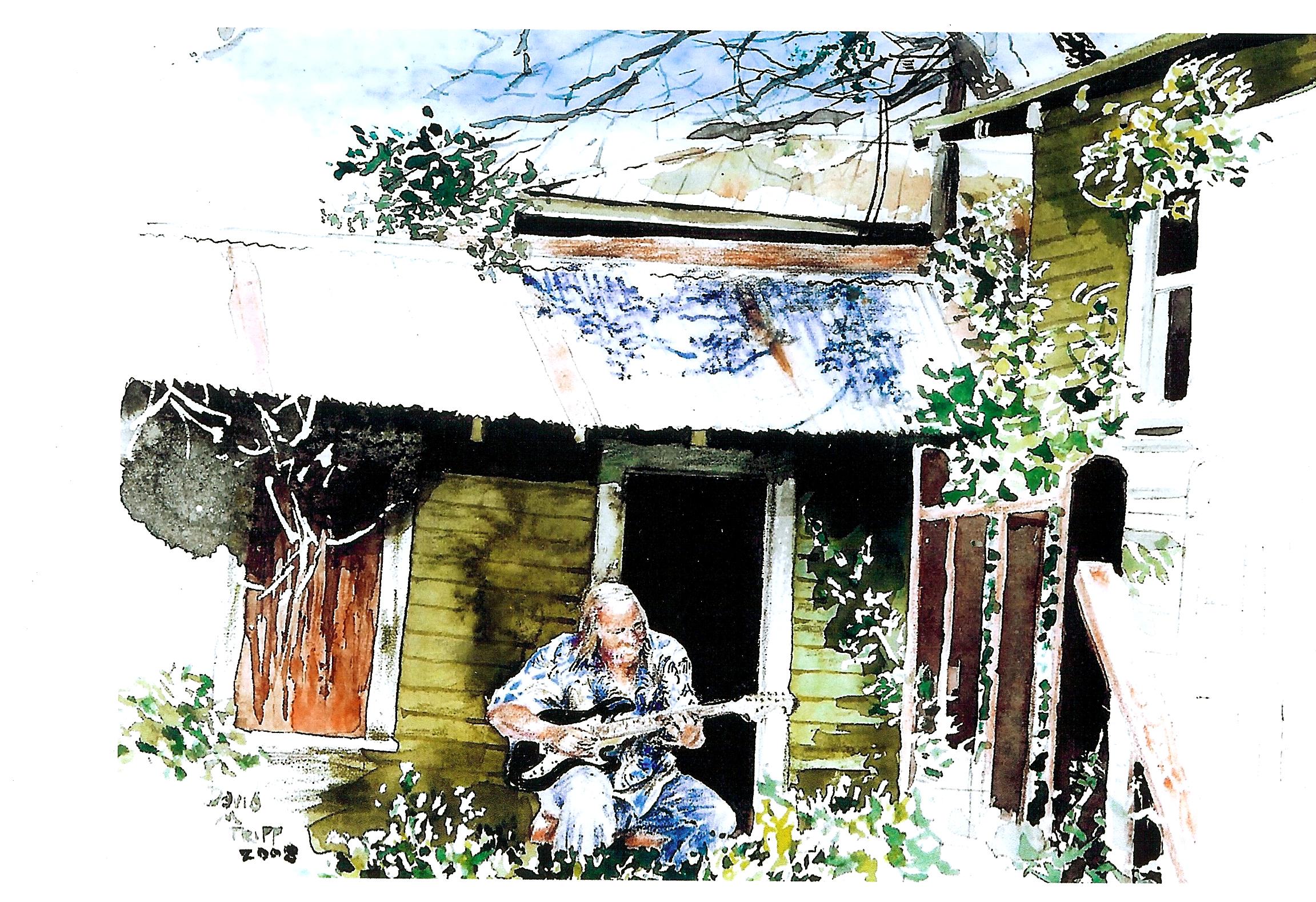 Card Backyard Blues