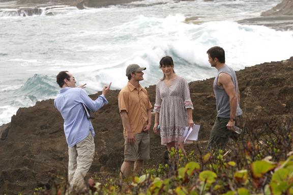 David Twohy, Steve Zahn, Milla Jovovich, Tim Olyphant.