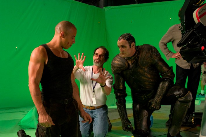 Vin Diesel, David Twohy, Colm Feore, TCOR, 2003.