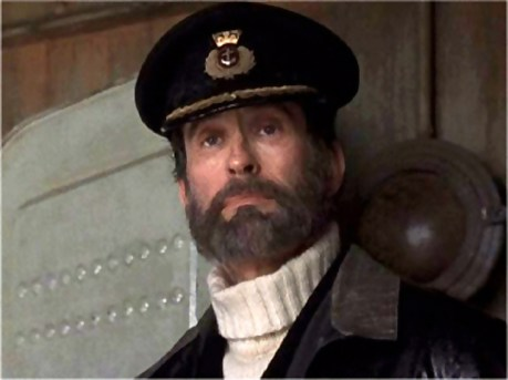 David Twohy as British Sea Captain in BELOW, 2001