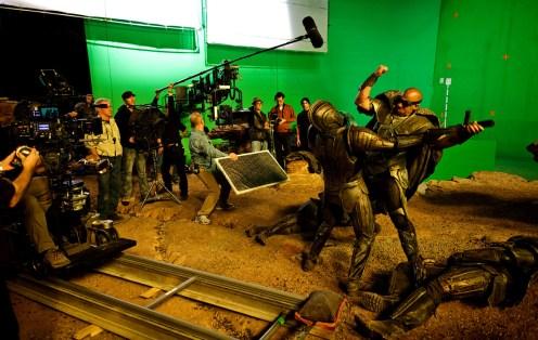 Fight Scene Montreal RIDDICK 2012.