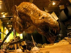 Mud Demon puppet, Montreal, RIDDICK, 2012.