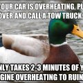 Overheating car, part 2