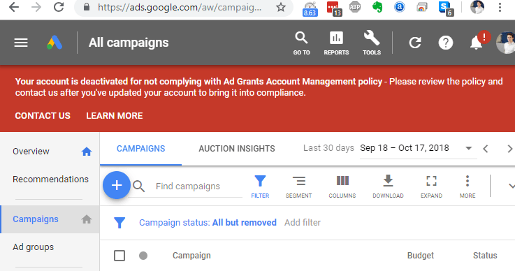 How to make the most of the 2018 Google Ad Grants rule changes