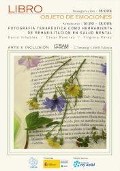 """Seminario CESAM """"Fotografía terapéutica como herramienta de rehabilitación en Salud Mental"""""""