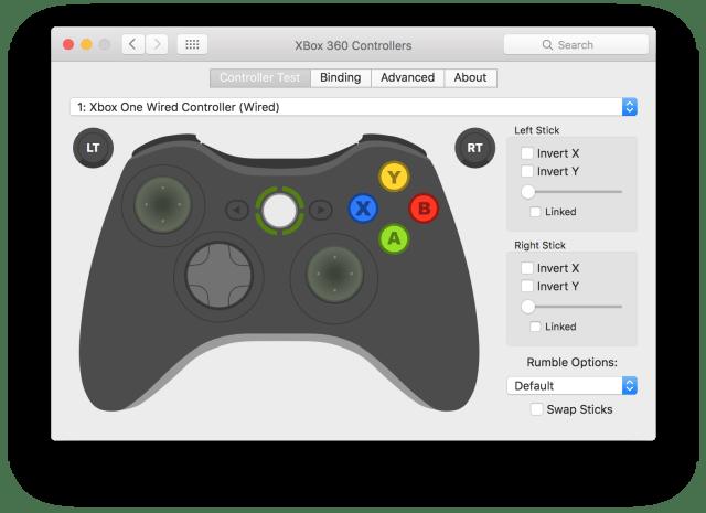 Xbox Controller on Mac