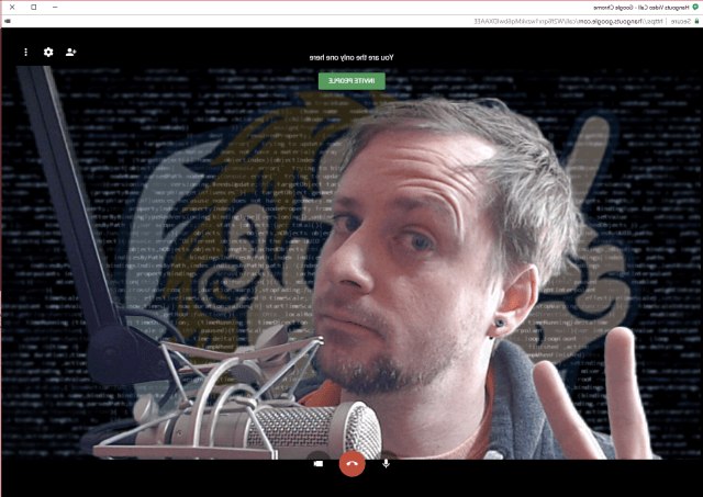 OBS for Google Hangouts