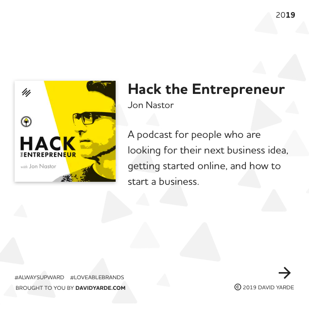 Hack the Entrepreneur by Jon Nastor