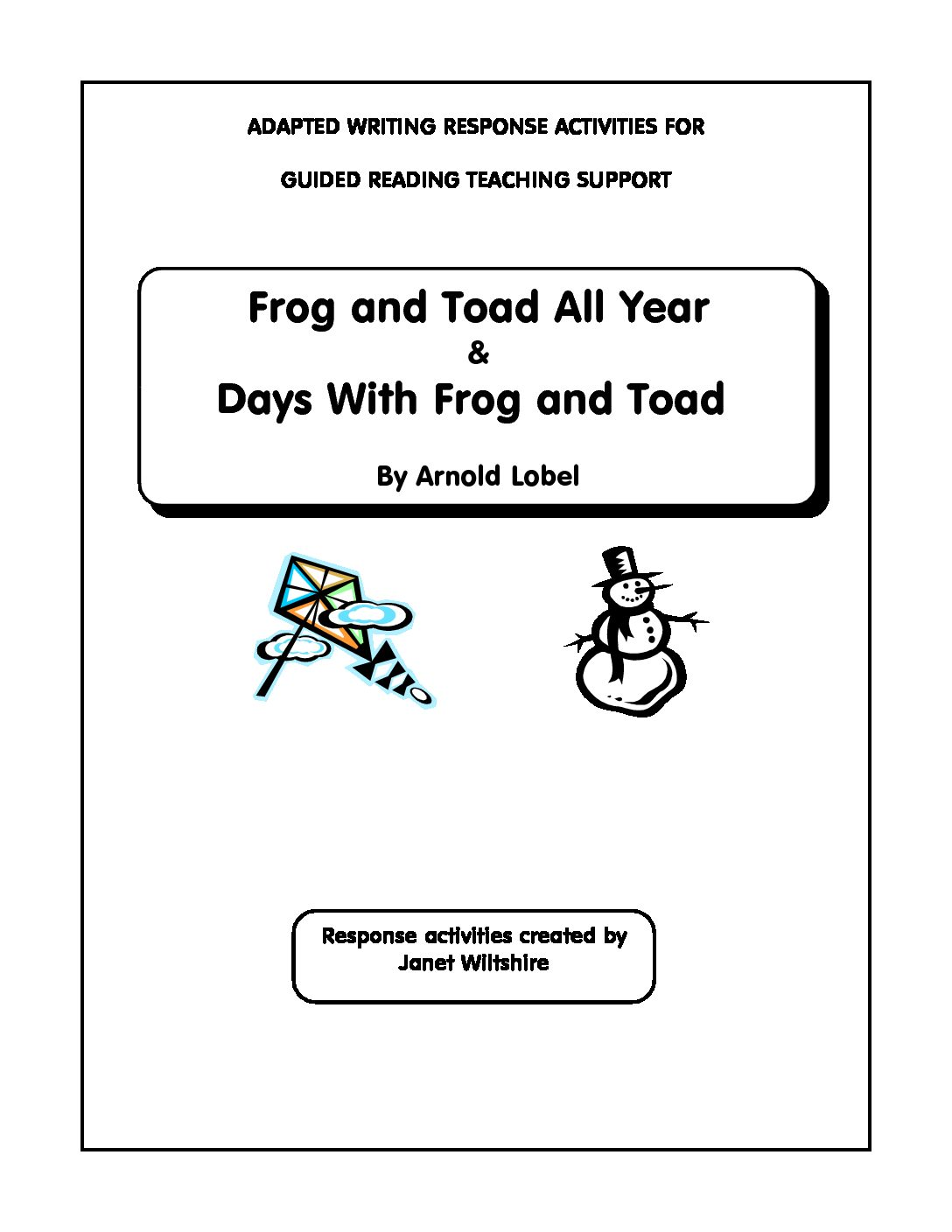 Frog And Toad All Year Days With Frog And Toad