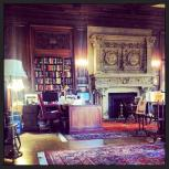 Visiting the library at the Cosmos Club in Washington, DC