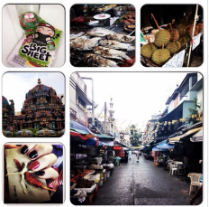 Visiting Thailand and discovering street food