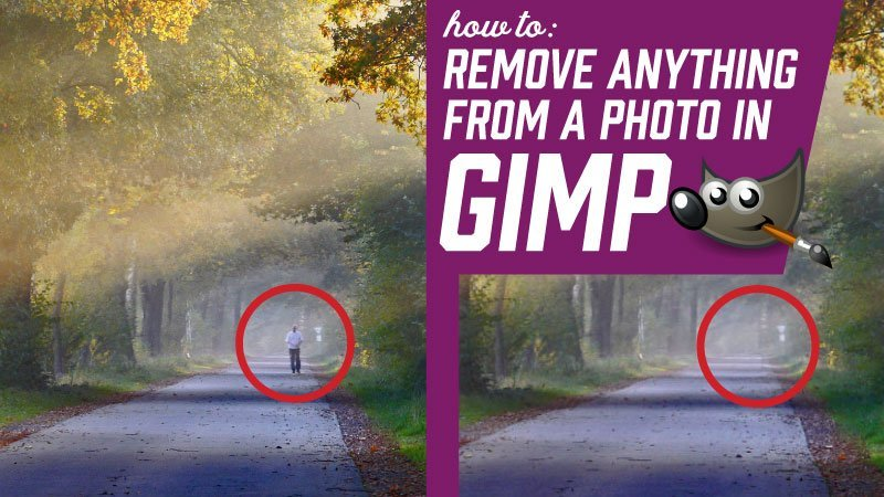 How to Remove Anything from a Photo in GIMP 2.8