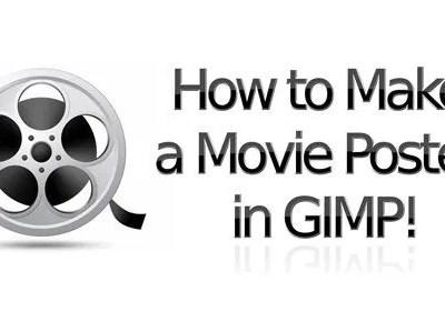 Kako napraviti filmski poster u GIMP-u