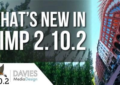 Što je novo u GIMP 2.10.2