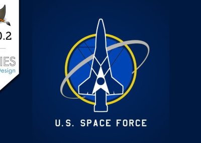 GIMP 2.10.2 Tutorial: US Space Force Vector Style Logo