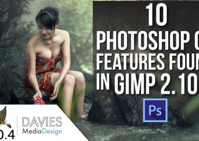 GIMP vs. Photoshop: Recursos do 10 Photoshop CC encontrados no GIMP 2.10.4