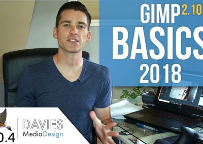 GIMP 2.10 Basics: Complete Overview for Beginners 2018