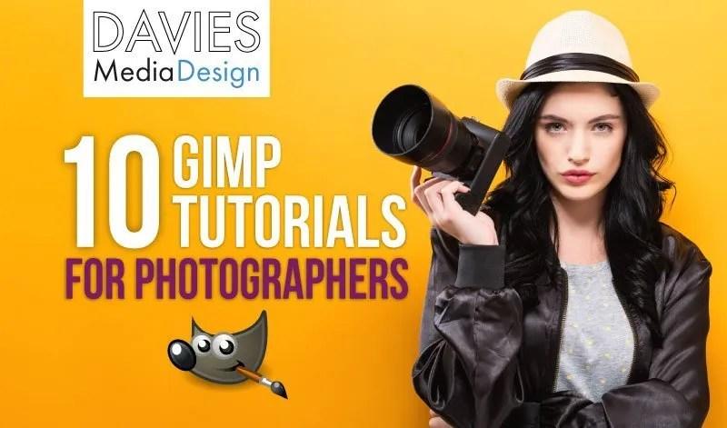 Top 10 GIMP Photography Tutorials