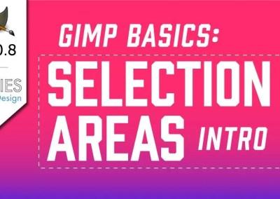 Osnove GIMP 2.10 područja odabira Detaljni vodič