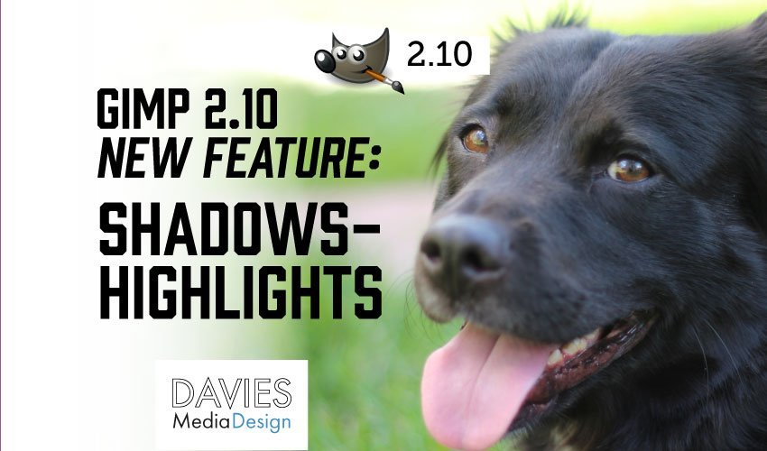 GIMP 2.10 Shadows-Highlights Feature (Text Version)