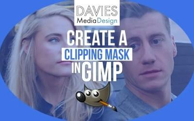 GIMP में क्लिपिंग मास्क कैसे बनाएं