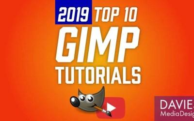 Los mejores tutoriales de 10 GIMP de 2019