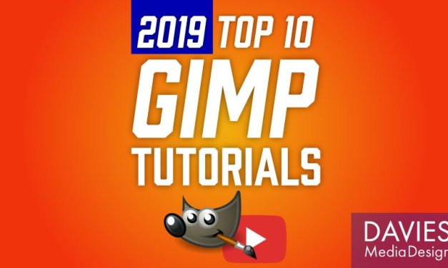 Principais tutoriais do 10 GIMP de 2019