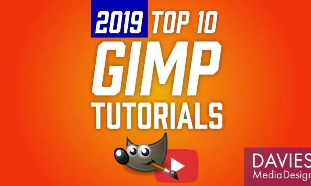 Top 10 GIMP Tutorials of 2019
