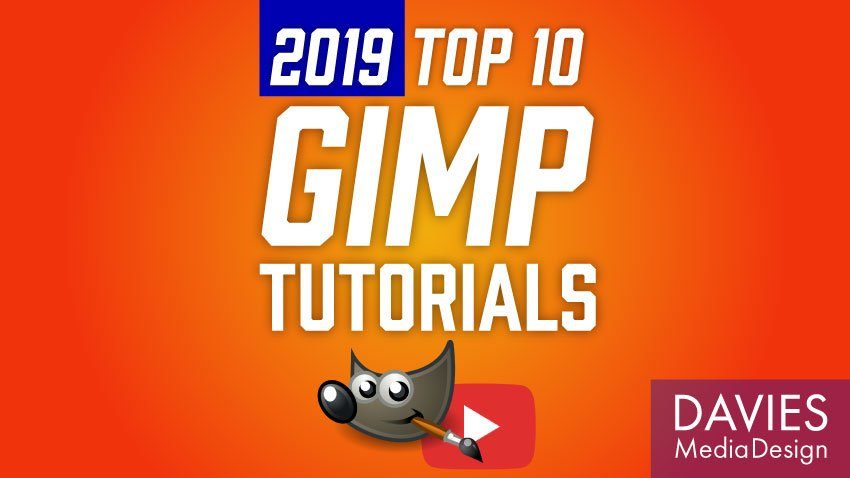 Top 10 GIMP Tutorials i 2019 videoliste